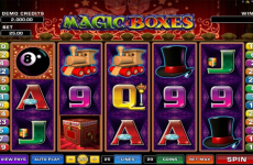 magic boxes microgaming online slots
