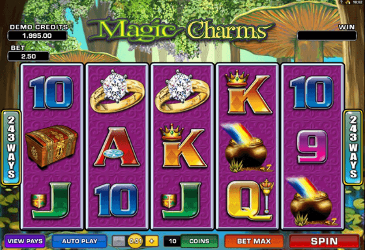magic charms microgaming online slots
