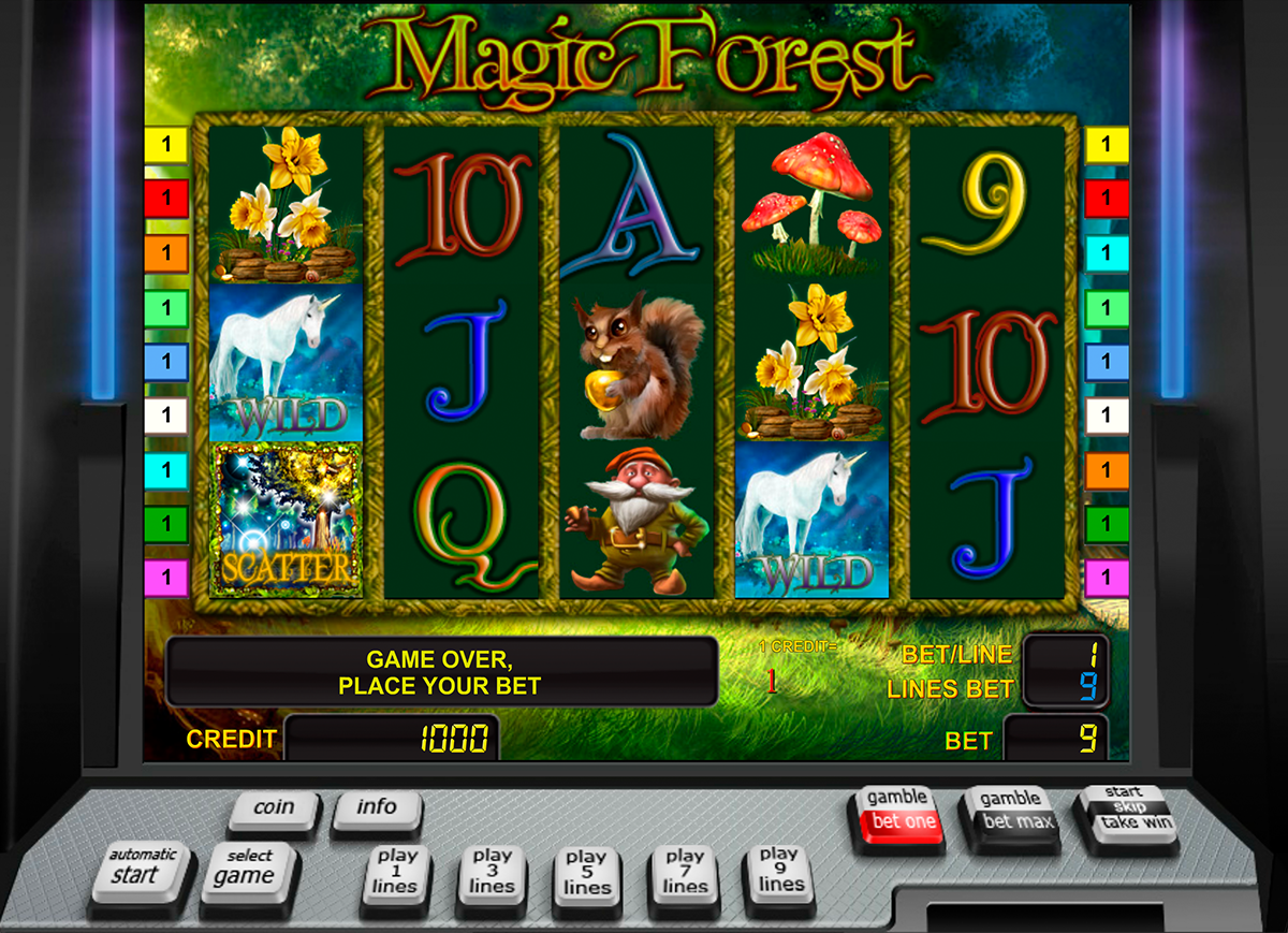 magic forest novomatic online slots