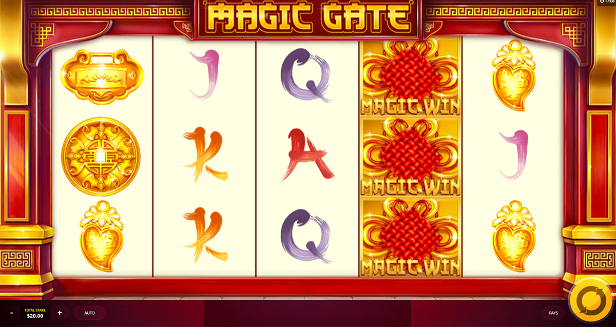 magic gate red tiger online slots