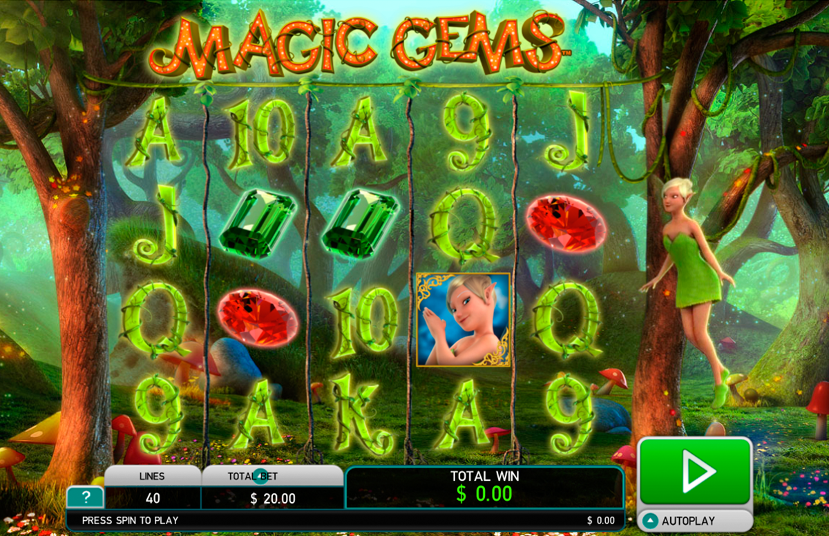 magic gems leander online slots