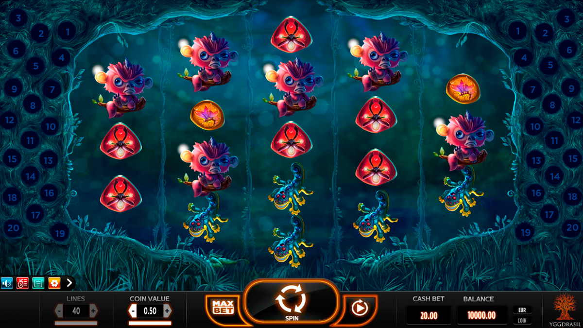 magic mushrooms yggdrasil online slots