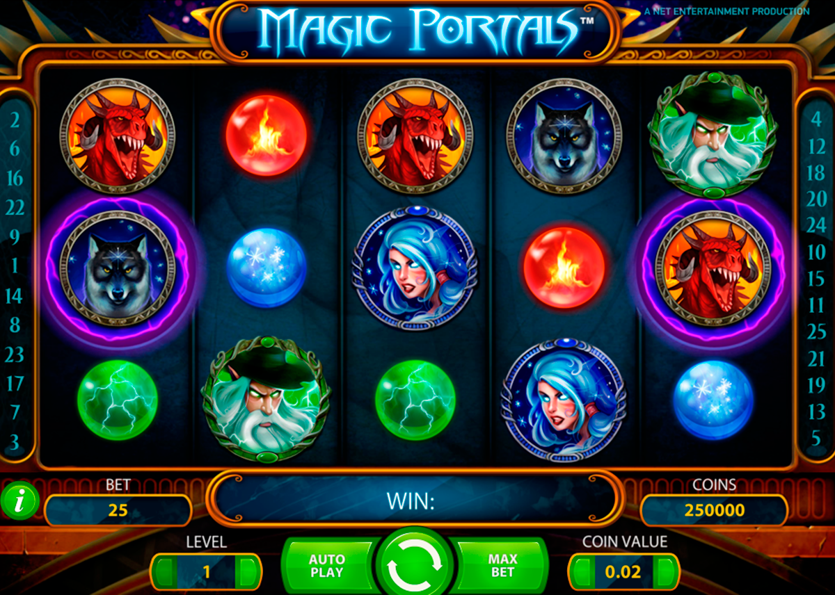 magic portals netent online slots