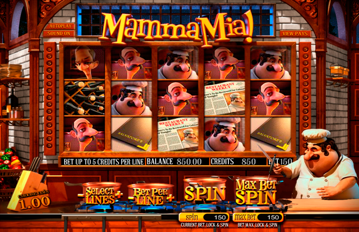 Mamma Mia Slots - Free Play & Real Money Casino Slots