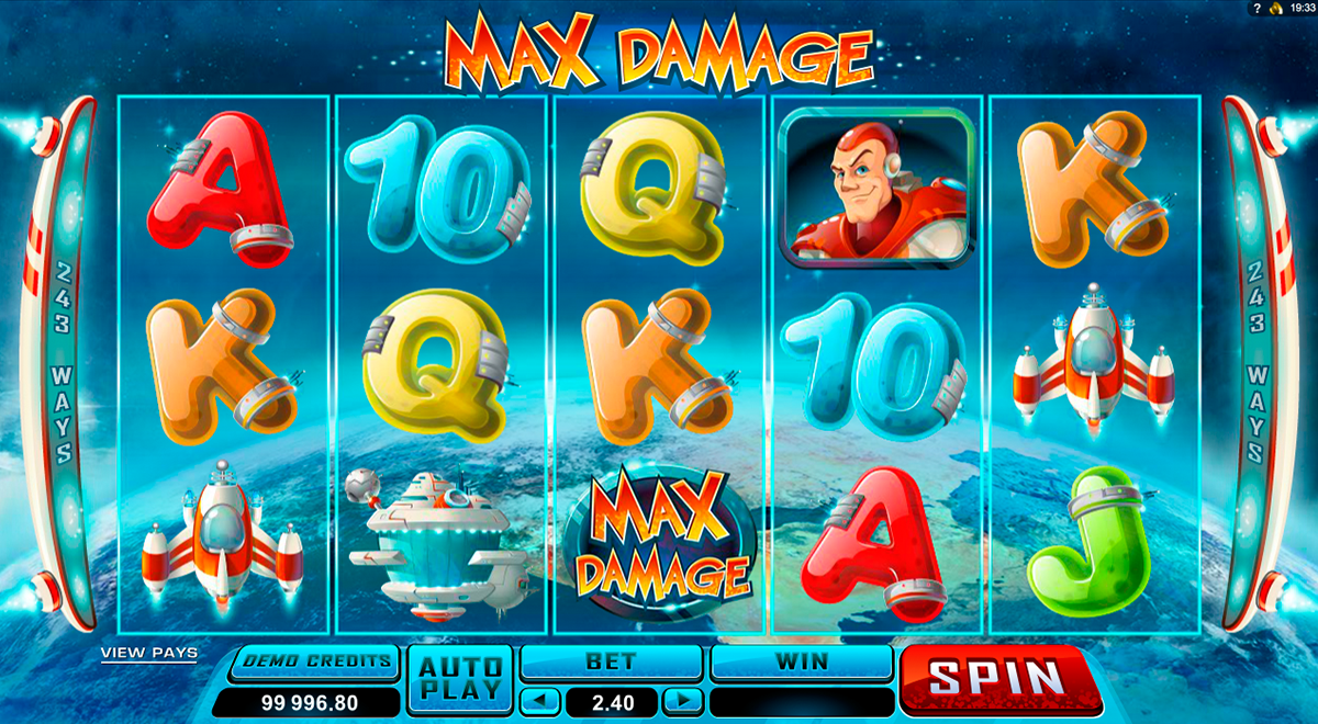 max damage microgaming online slots