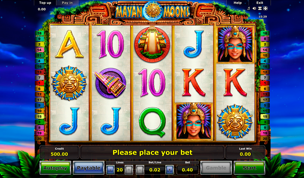 Mayan Gold Slot - Read the Review and Play for Free