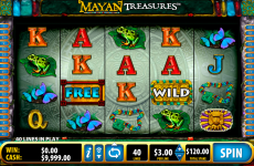 mayan treasures bally online slots