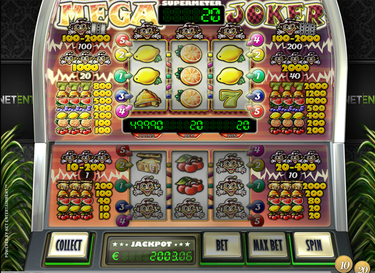 Mega Joker Slots - Free Play & Real Money Casino Slots