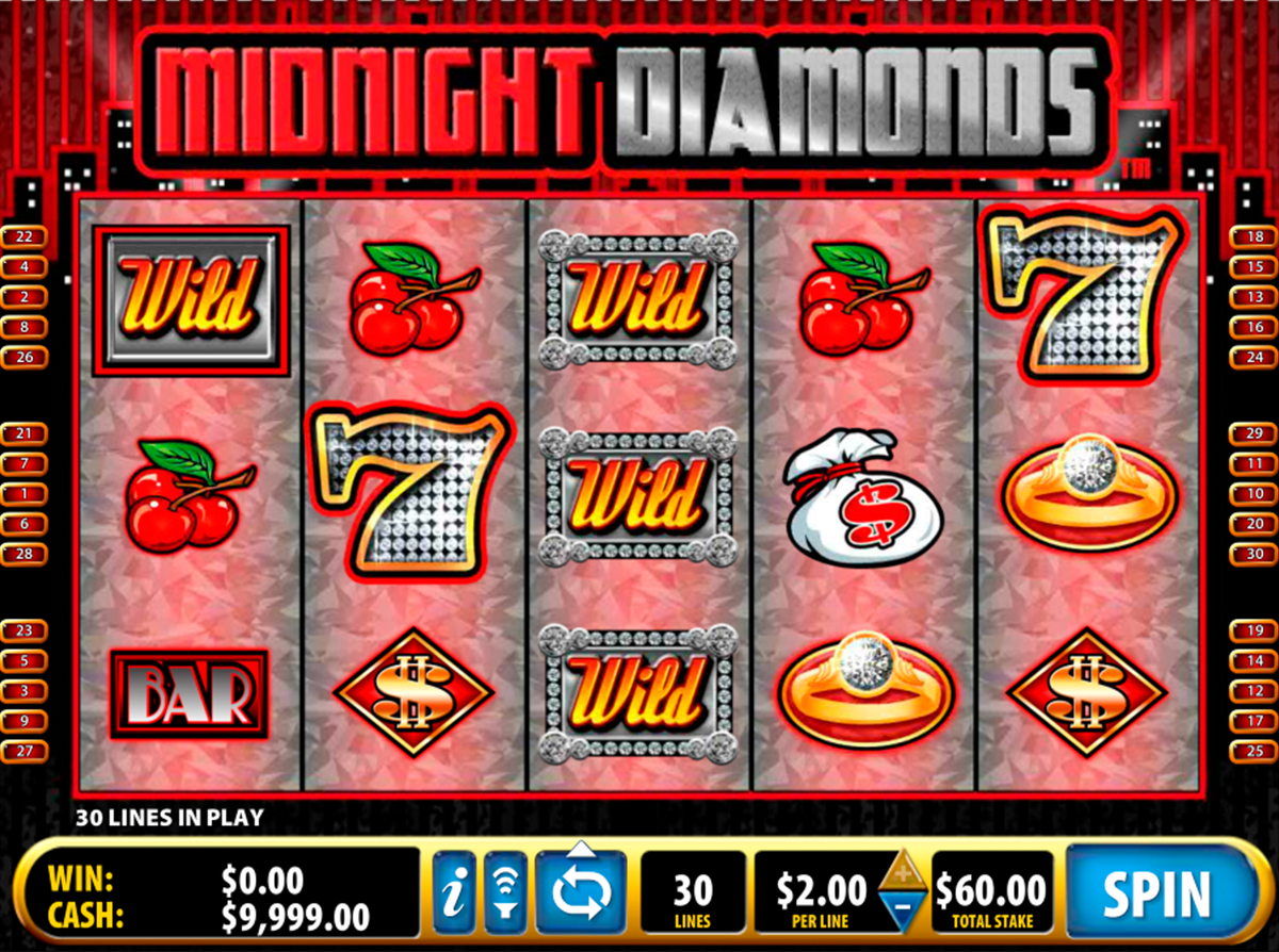 midnight diamonds bally online slots