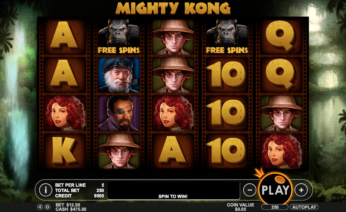 mighty kong pragmatic online slots