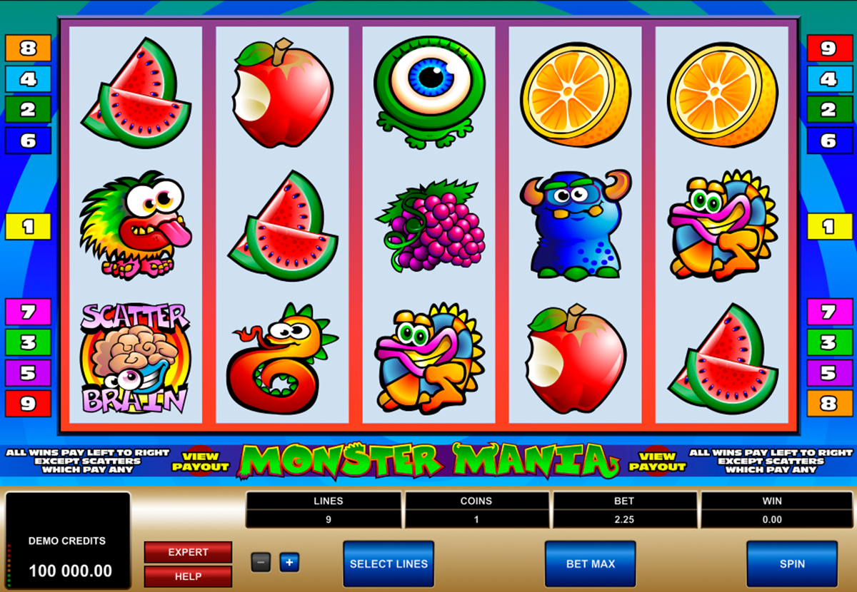 monster mania microgaming online slots