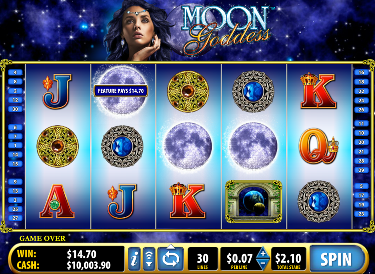 Goddess of the Moon Slot - Try this Online Game for Free Now