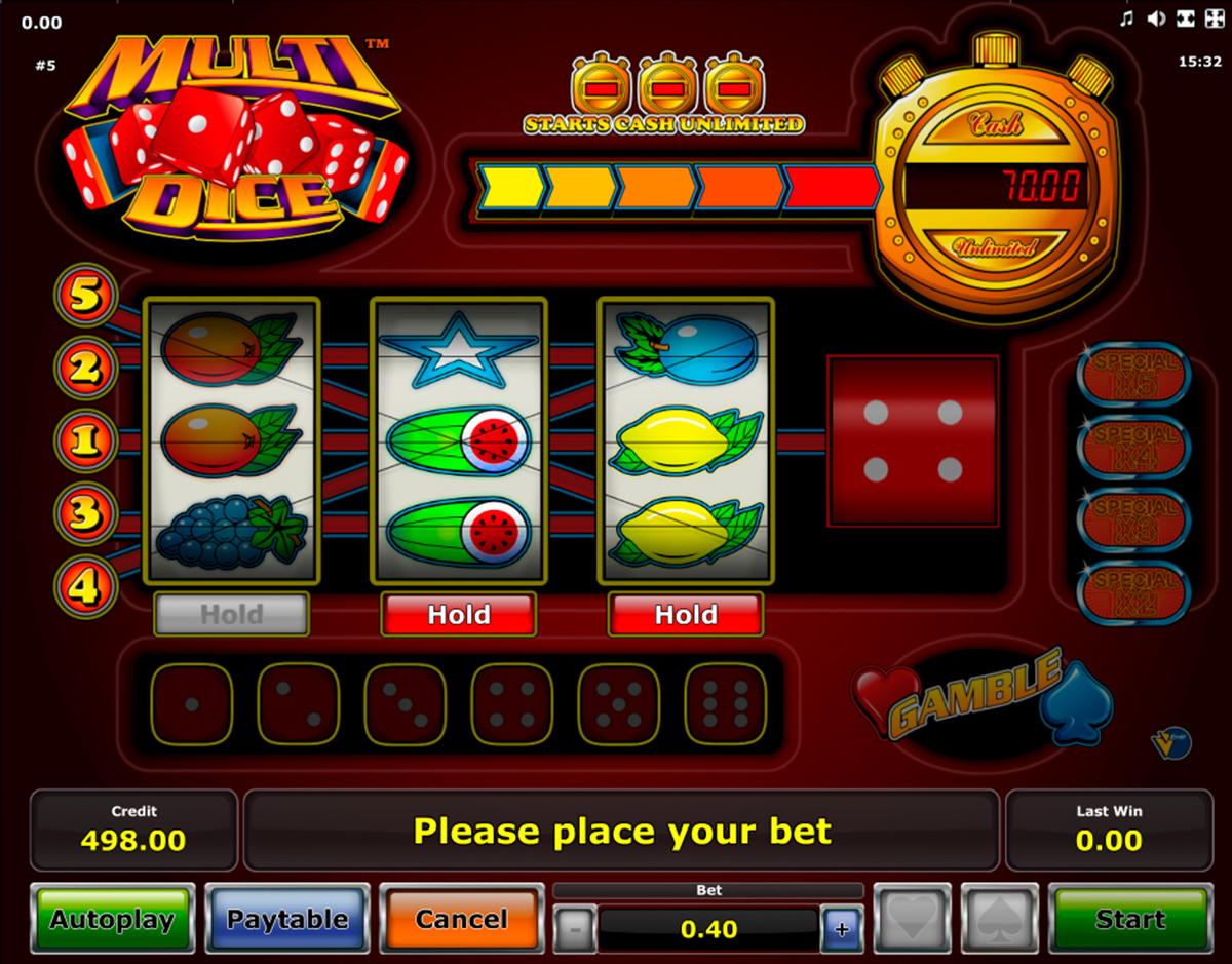Flaming Dice Slot Machine - Play Free Casino Slots Online