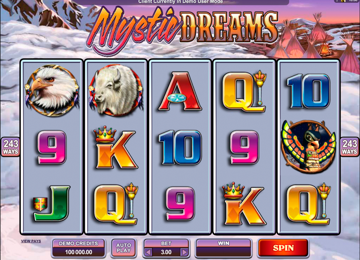 mystic dreams microgaming online slots