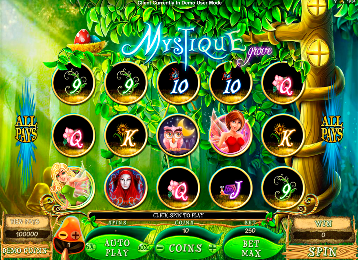 mystique grove microgaming online slots