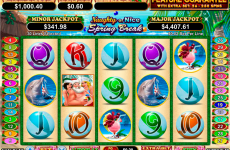 naughty or nice spring break rtg online slots