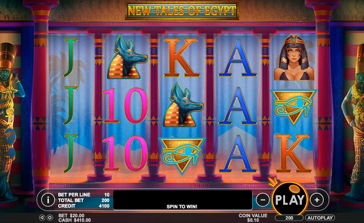 New Tales of Egypt - Pragmatic Play - FREE casino slots ...