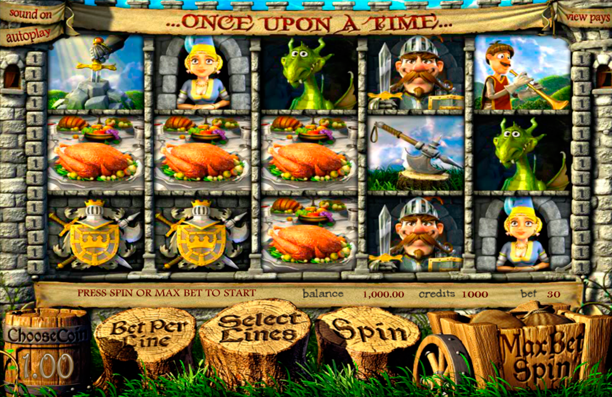 once upon a time betsoft online slots