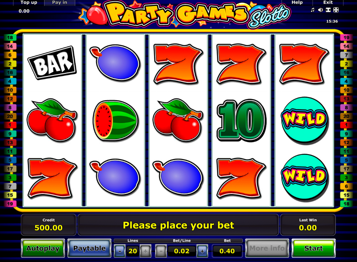 Animal Party Slot - Play this Game for Free Online