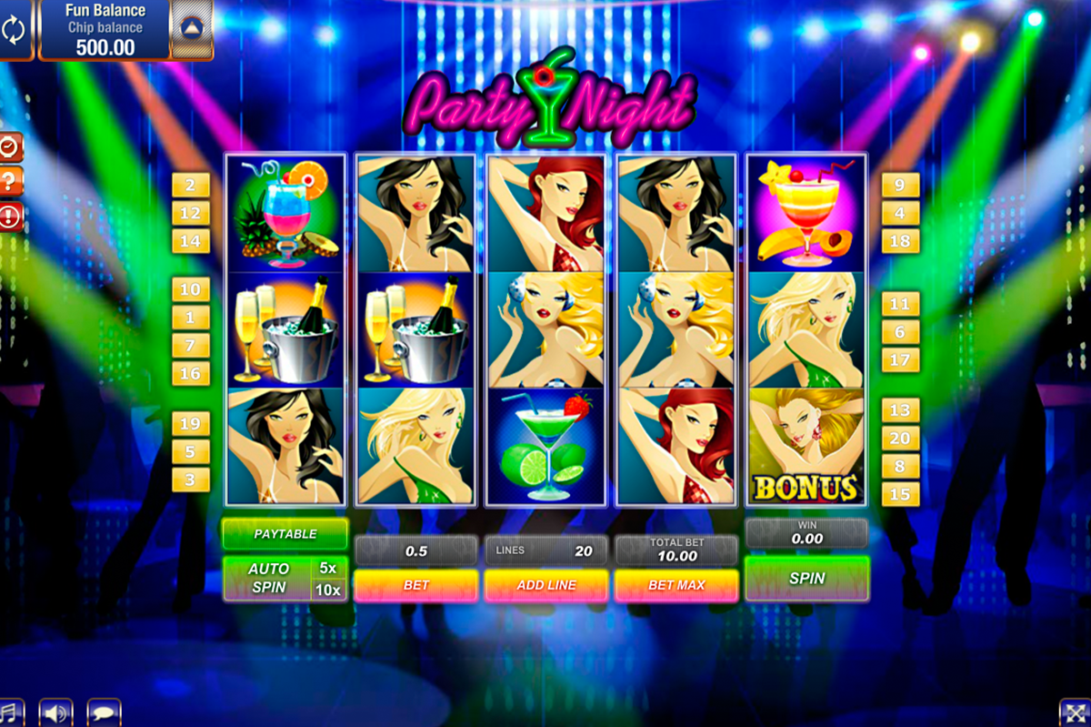 party night gamesos online slots