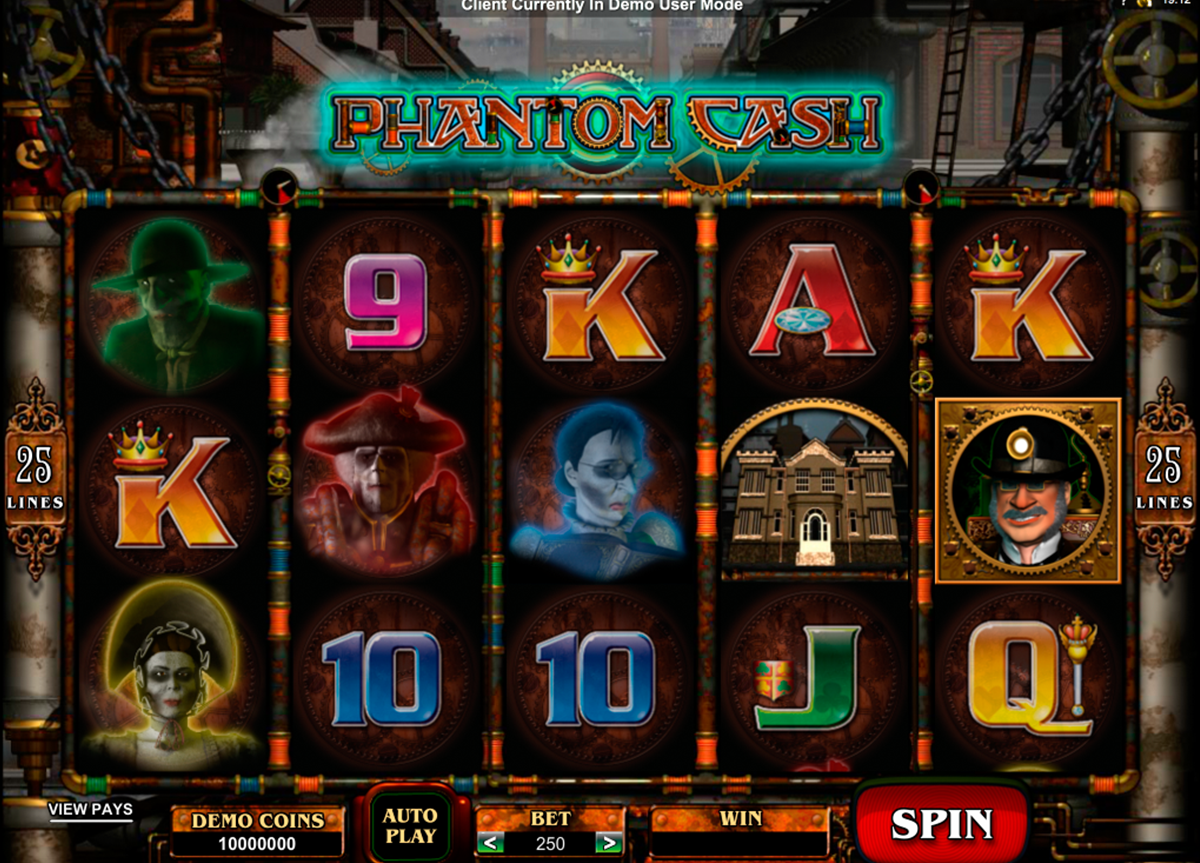 phantom cash microgaming online slots