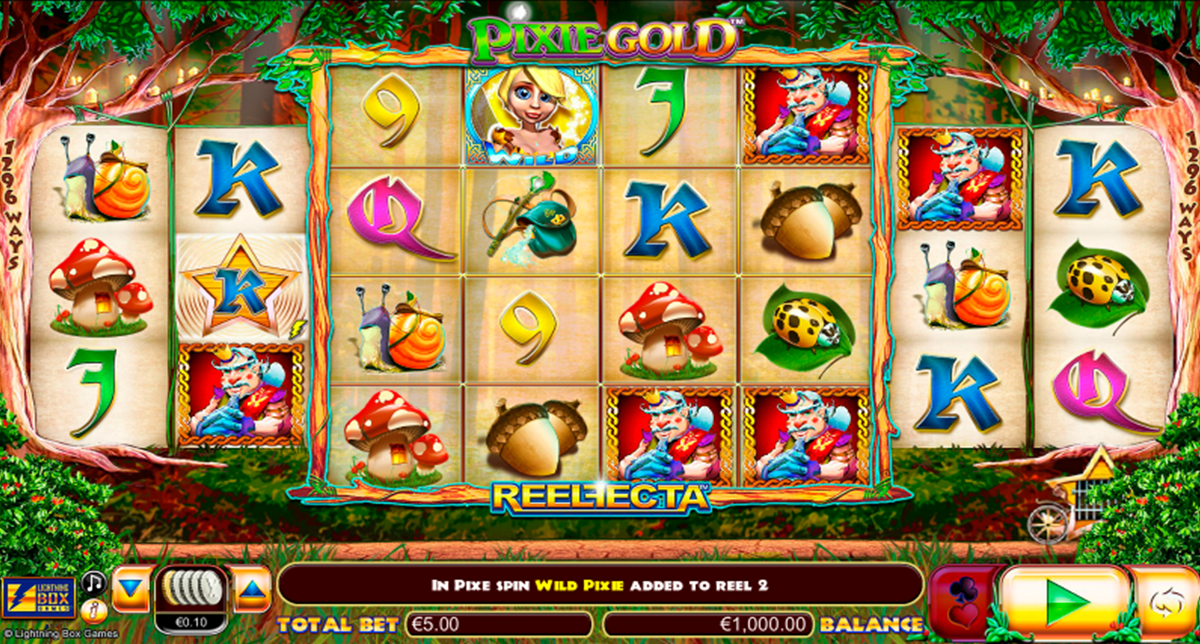 pixie gold lightning box online slots