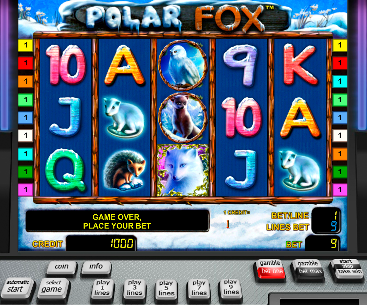 Polar Fox™ Slot Machine Game to Play Free in Novomatics Online Casinos