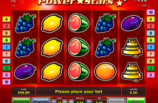 power stars novomatic online slots