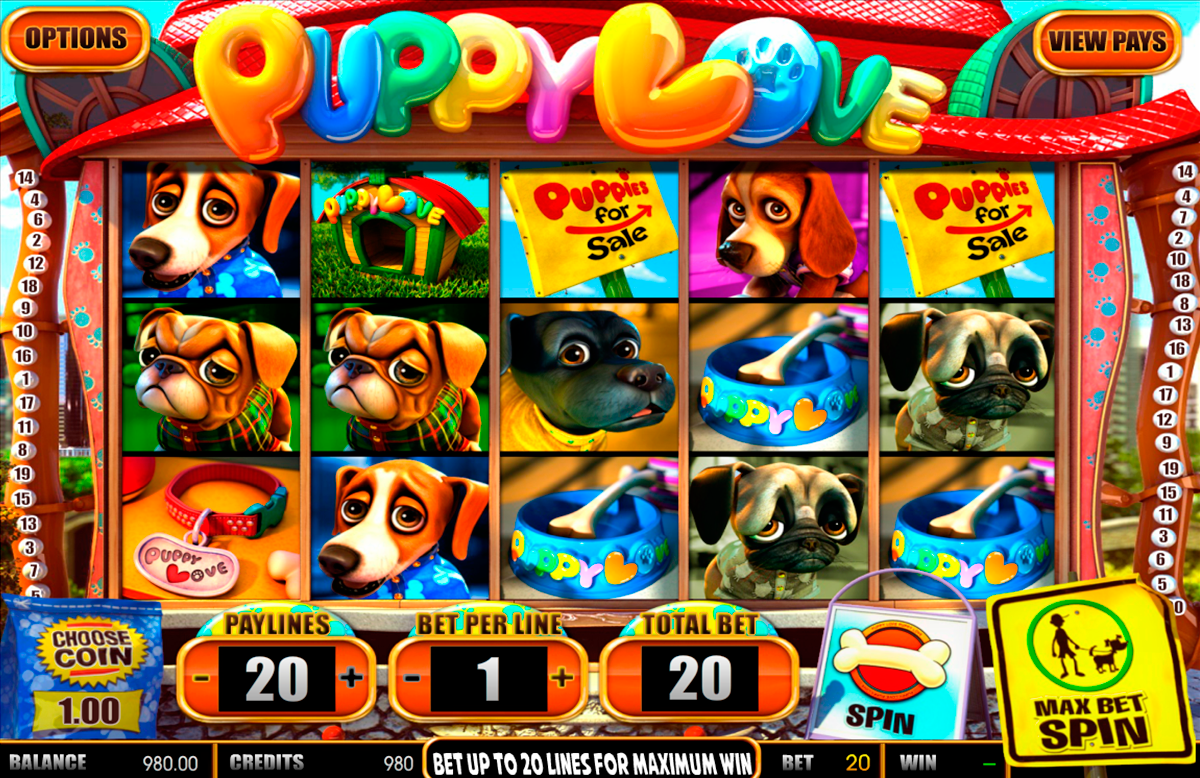 puppy love betsoft online slots