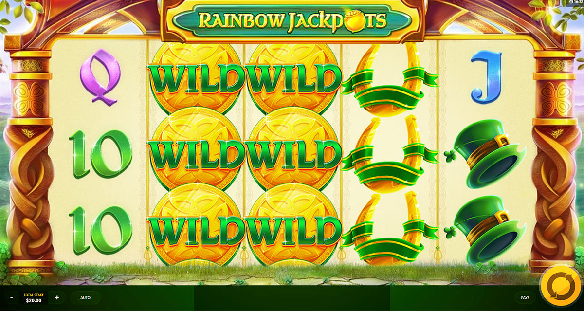 Rainbow Jackpots Slots - Free to Play Demo Version