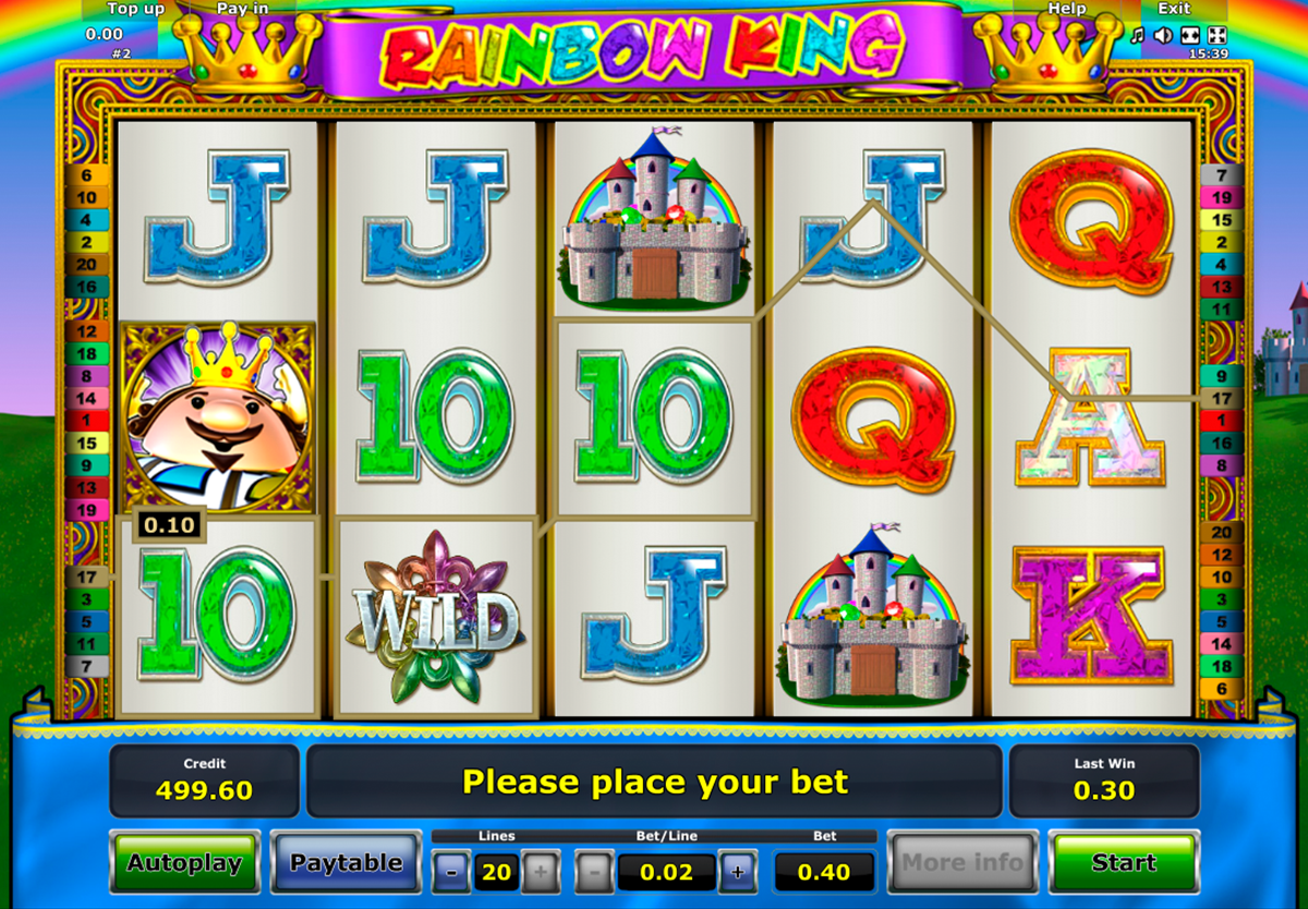 Rainbow King™ Slot Machine Game to Play Free in Novomatics Online Casinos