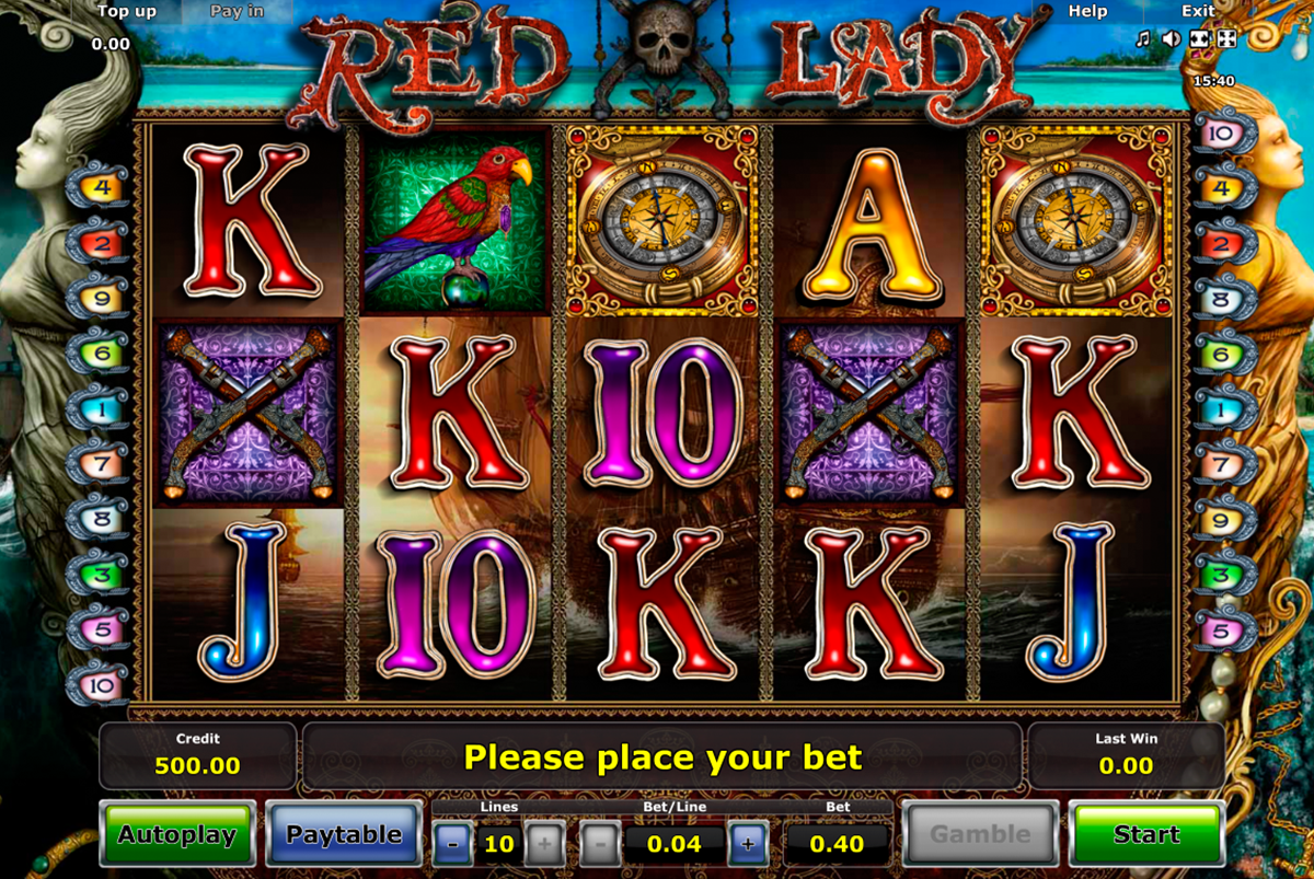 red lady novomatic online slots