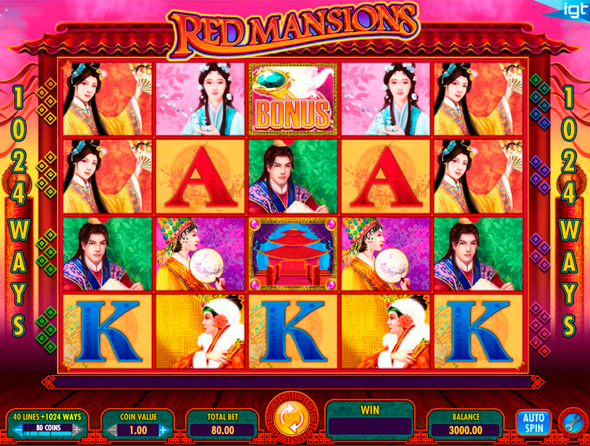 red mansions igt online slots