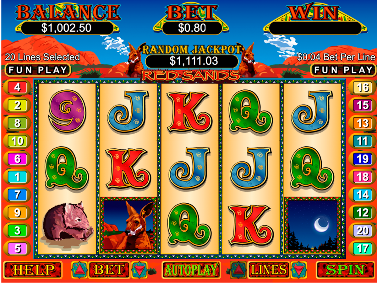 red sands rtg online slots