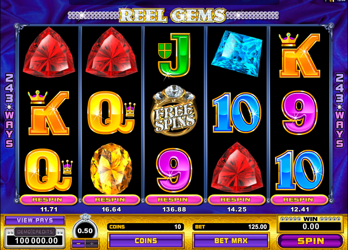 Reel Gems - One-of-a-Kind Online Video Slot