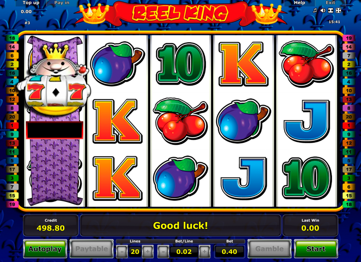 reel king novomatic online slots