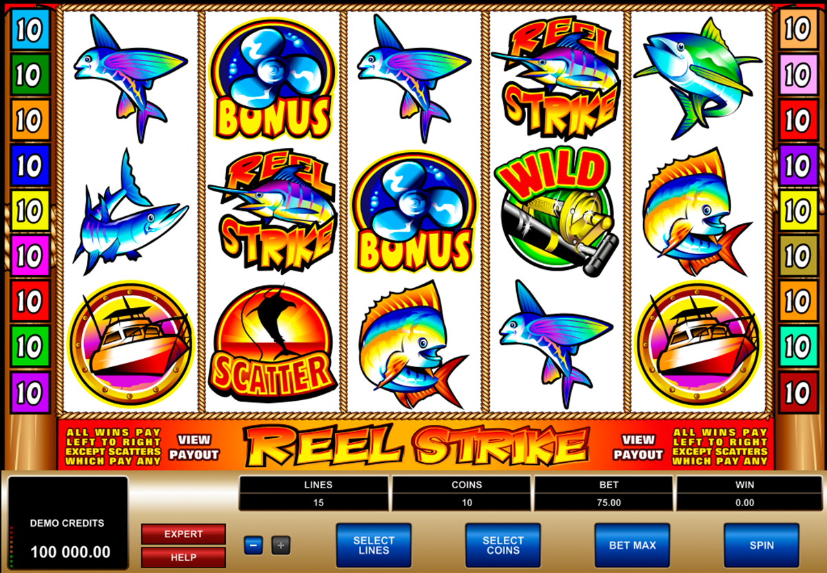 reel strike microgaming online slots