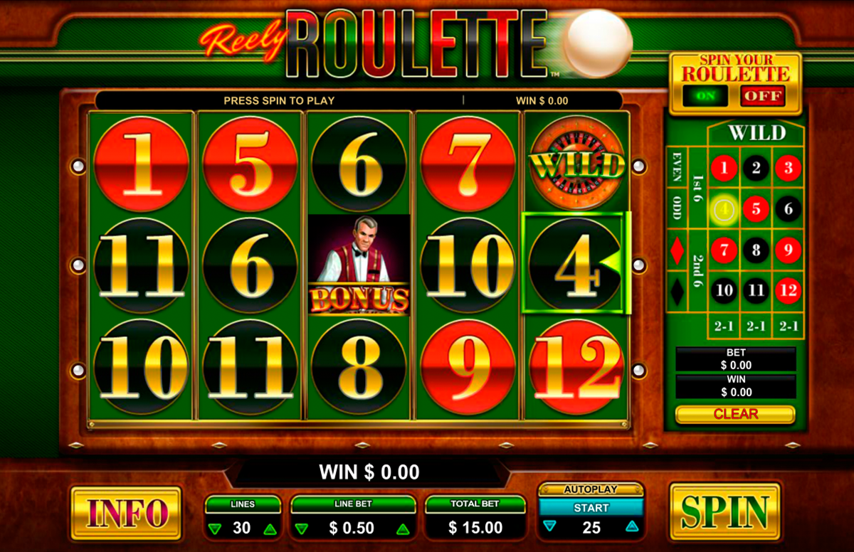 Roulette online free to play