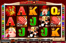 rhyming reels hearts and tarts microgaming online slots