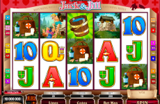 rhyming reels jack and jill microgaming online slots