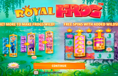 royal frog quickspin online slots