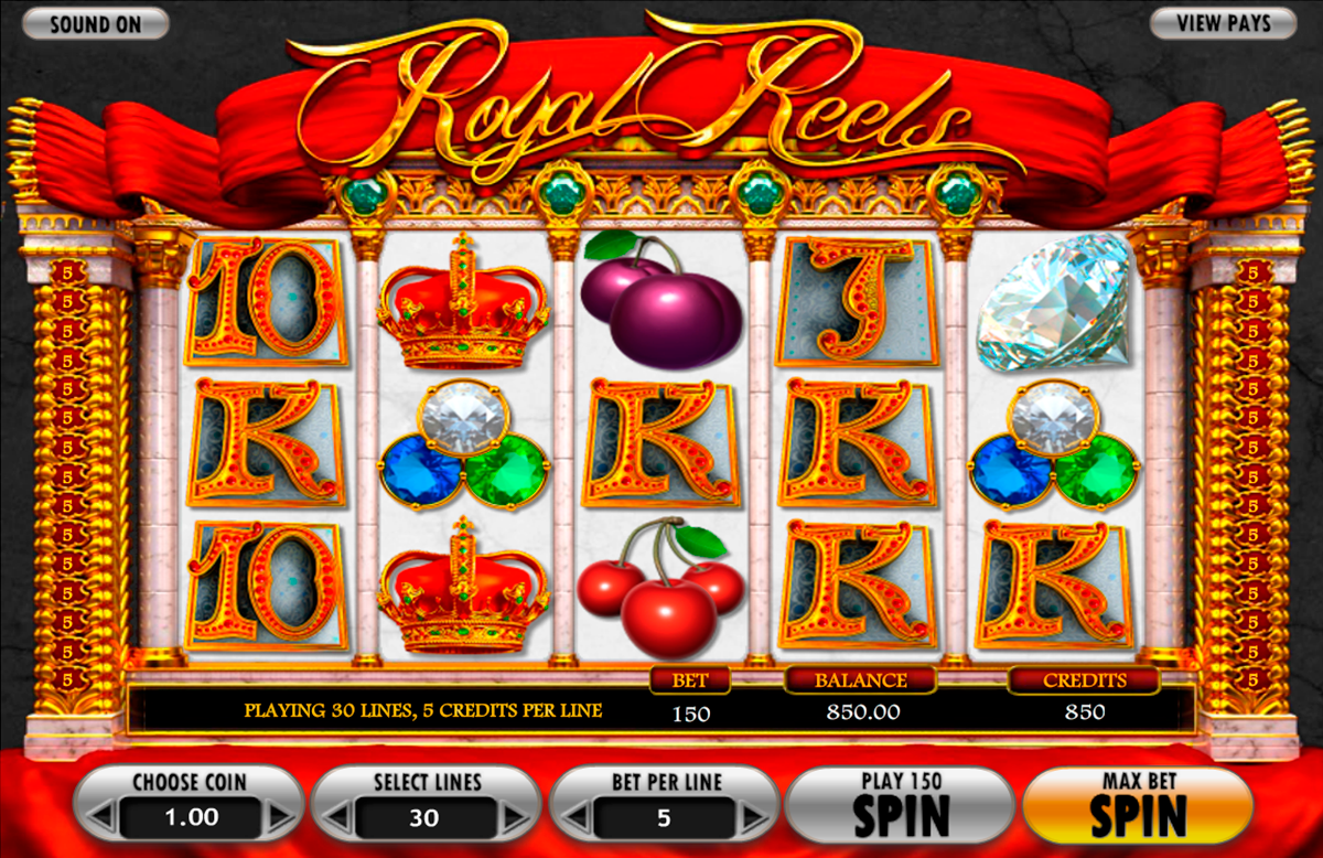 royal reels betsoft online slots