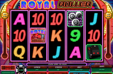 royal roller microgaming online slots