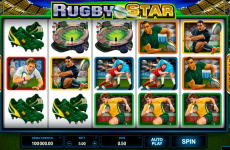 rugby star microgaming online slots
