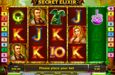 secret elixir novomatic online slots