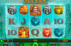 secret of the stones netent online slots