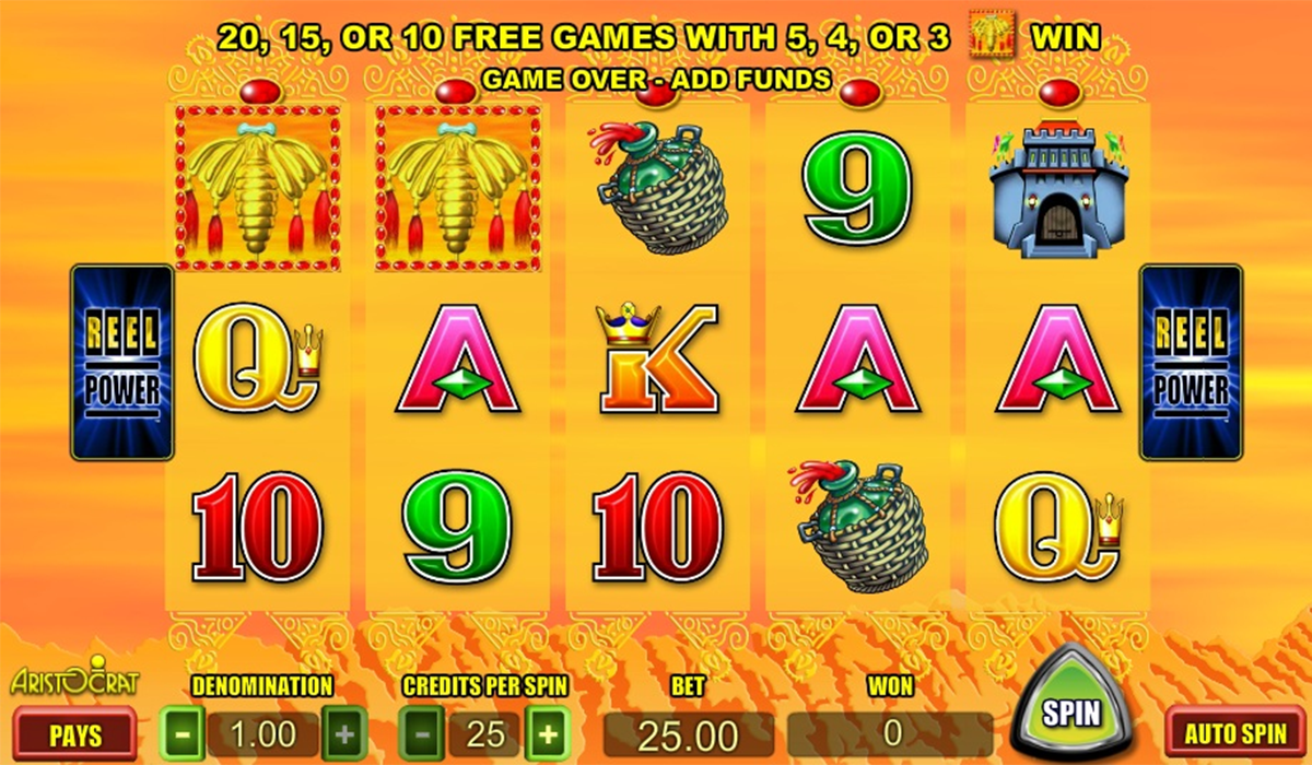 silk road aristocrat online slots