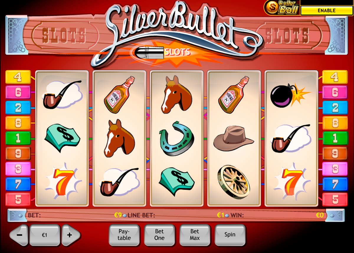 silver bullet playtech online slots