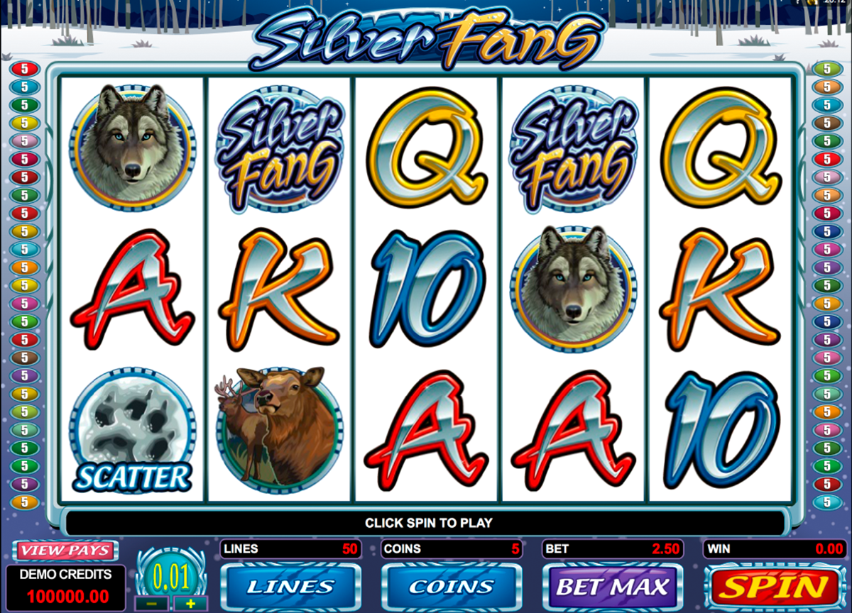 silver fang microgaming online slots