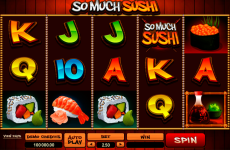 so much sushi microgaming online slots